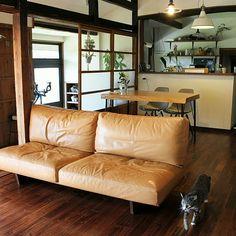 185さんの、Overview,ソファ,古民家,古民家リフォーム,古民家リノベーション,古民家暮らしについての部屋写真