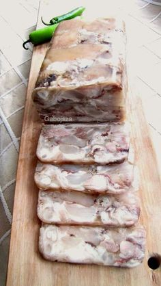 Pork Recipes, Recipies, Cooking Recipes, Cold Cuts, Charcuterie, Food And Drink, Fish, Meat, Chicken