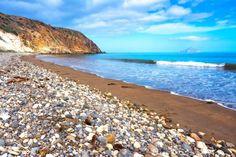 Scorpion Bay, Santa Cruz Island, CaliforniaThe remote Santa Cruz Island is known for its campsites and native wildlife