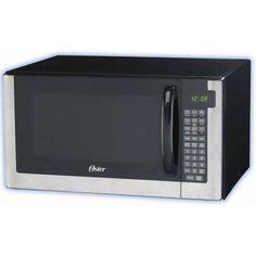 Oster 1.4 cu ft Digital Microwave Oven, Black
