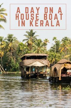 In recent decades the secret of Kerala's beauty has got out, and the region's historic houseboats have been made accessible for tourists to enjoy. Click through to find out what a day on a houseboat is like. India Travel Guide, Asia Travel, Kerala Travel, Travel With Kids, Family Travel, Tokyo, Solo Travel, Travel Plan, Travel Advice