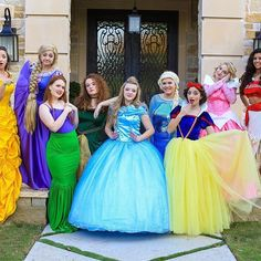 We are so excited to announce that we posted our first Disney princesses in real life video!!!! Thanks to @rclbeauty101 for the inspiration!! CLICK LINK IN BIO TO WATCH Comment down below which princess is your favorite!!!
