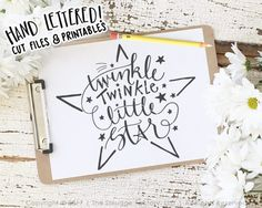 Twinkle Twinkle Little Star SVG Cut File, Star SVG, Silhouette, Cricut Cutting File, How I Wonder Download, Diy Nursery Art, Graphic Overlay, SVG Files, Cutting Files, Silhouette Cameo, Brother Scan N Cut, SCAL, Sure Cuts A Lot, Cut Files, Printable, Printables, Wall Art, Etsy Print, Original Art, DXF Files, JPG, PNG, Clipart, Inspitational Quotes, Motivational Quotes, The Smudge Factory, Hand Lettering, Calligraphy, Vinyl Crafts, Paper Crafting, Scrapbooking, Cutting Machine, Cut Machine