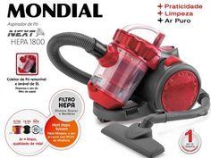 Aspirador de Pó Mondial 1500W com Filtro HEPA - Next Hepa 1800 AP-13 com as melhores condições você encontra no Magazine Jbtekinformatica. Confira!