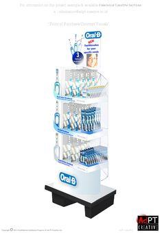 Oral B  FSDU in Temporary Materials