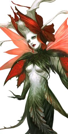 NoaK - Monster_fairy of th flower_level 3_002_by Lorenzo Lee |  Date: 05/13/09 |  Owner: Lorenzo Lee | Pin by @settimamas
