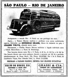 1939 - Viaje de São Paulo ao Rio de Janeiro.