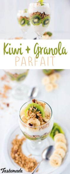 This yummy parfait will make you crave kiwi and granola more often.