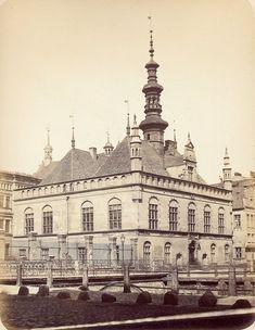 Danzig 1865 Altstaedtisches Rathaus Danzig, Country Information, Germany And Prussia, Krakow, Old Photos, Paris Skyline, Taj Mahal, Tours, City