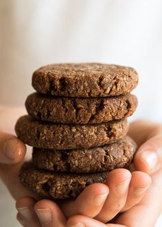 Quick and Easy Nut Free Chocolate Cookies. Free from gluten, grains, dairy, egg, nuts and refined sugar. Enjoy.