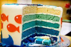 Fish birthday party