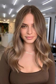 Brown Hair Balayage, Hair Color Balayage, Ombre Hair, Hair Color Highlights, Balayage Highlights, Blonde Hair Looks, Light Hair, Light Brown Hair, Cool Hair Color