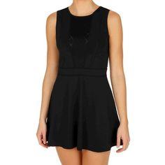 Tonic Estrella Dress Women - Black