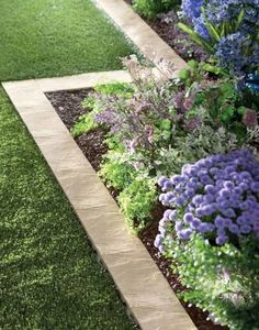 paver borders for flower beds lawn and garden design