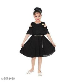 Checkout this latest Frocks & Dresses Product Name: *Fabulous Kid's Girls Dress* Sizes: 1-2 Years, 2-3 Years Easy Returns Available In Case Of Any Issue   Catalog Rating: ★3.9 (7065)  Catalog Name: Cutepie Fabulous Kid's Girls Dresses Vol 11 CatalogID_346537 C62-SC1141 Code: 992-2568469-207