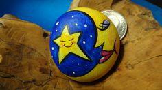 Star and Moon Stone ROCKS