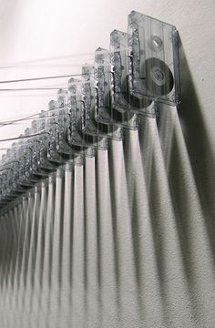 """"""" words more hurtful than anything I could have ever uttered. Tape Wall, Pierre Belouin """""""