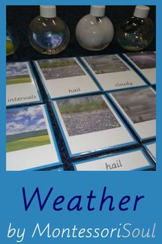 Lots of Free Printables and ideas linked to learning about weather