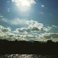 """【ecc_d.n_n.b_han】さんのInstagramをピンしています。 《風が強くて寒い〰((+_+))❄❄❄ * * * 雲☁の流れがとても速い🍃 * * * ここは、一応 """"川""""でも、すぐそこが海で 殆んど海水 * * * 川の名前、初めて知りました♪😁 * * * ☆*:.。.・..。…♡**・・:.*★☆★*.:・・**♡…。..・.。.:*☆ * * * #公園  #park  #田舎  #country  #風景  #景色  #landscape  #森林  #forest  #空  #青空  #そら  #sky  #bluesky  #雲  #clouds  #川  #river  #イマソラ #自然  #nature  #海  #うみ  #sea  #波  #wave  #散歩  #ウォーキング》"""