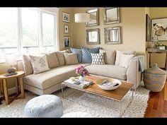 Idéias para mobiliar uma sala pequena