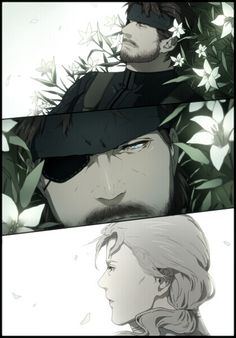 Big Boss & The Boss - Metal Gear Solid: Peace Walker