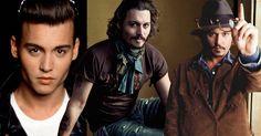 Johnny Depp rompe con los estereotipos y paradigmas de los actores en Hollywood, con su personalidad excéntrica por eso sigue siendo el amor platónico de muchas