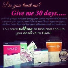 Do you need more energy? #thrivewithme #thrive jdavidson98.le-vel.com for more information or to sign up for FREE!! by jdavidson98
