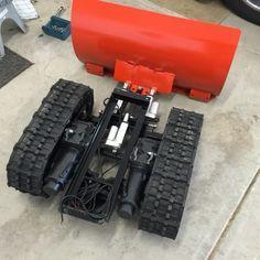 Snow Plow Robot | Let's Make Robots!