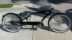 "26"" STRETCH LOWRIDER BEACH CRUISER, LOTS OF EXTRAS, SUPER COOL"