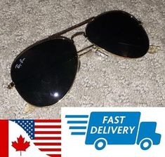 41a75d42136 RAY BAN AVIATOR BLACK AND GOLD NEVER WEAR CONDITION A1  fashion  clothing   shoes  accessories  mensaccessories  sunglassessunglassesaccessories (ebay  link)