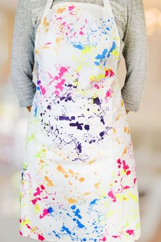 Apron screen printed with the Screen Sensation + Bespattered screen Feb 2017, Origins, Screen Printing, Apron, Printed, Board, Floral, Collection, Ideas