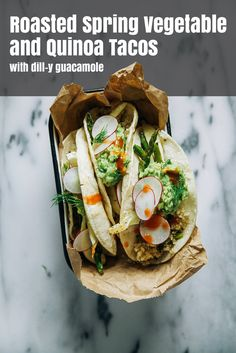 How To Make Healthy Spring Veggie Tacos