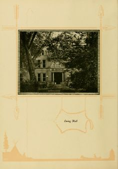 Athena yearbook, 1925. Ewing Hall was demolished in 1974. :: Ohio University Archives