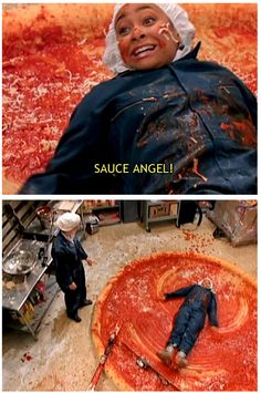 i totally want to make a giant pizza  That's so Raven
