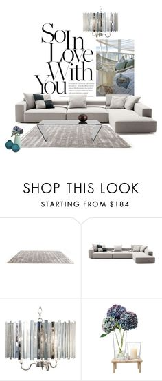 """in love"" by katrisha-art ❤ liked on Polyvore featuring interior, interiors, interior design, home, home decor, interior decorating, B&B Italia, LSA International and CB2"