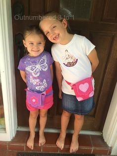 The HipCity Sak is the Fashionable & Fun Hands-Free Bag To Empower Little Girls On-the-Go! & Giveaway - Outnumbered 3 to 1