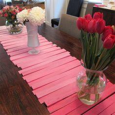 DIY: Ombre Table Runner   HGTV Canada