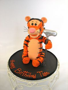 tigger cake by cakeladycakes, via Flickr