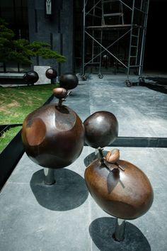 Zamama Metal Arts Studio 2014小鳥在音符上/力翰建設-新博/公共藝術