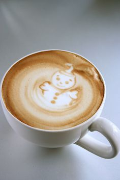 latte art so cute