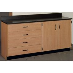 Stevens ID Systems Science Workstation Color: Ebony Star, Finish: Maple, Surface Type: Laminate