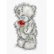 Tatty Teddy with rose