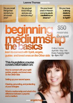 Beginning Mediumship is a class designed for anyone who believes they have mediumship skills or is looking to learn more about how to connect with spirit.