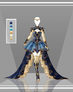 Adoptable Outfit Auction 27(open) by LaminaNati on DeviantArt
