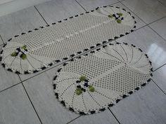 Crochê Fascínio: Tapetes em barbante