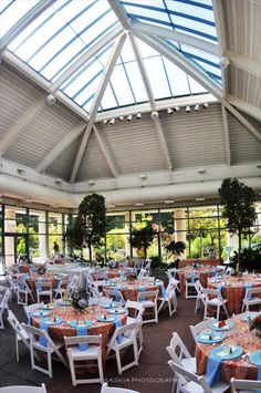 Atrium at Meadowlark Botanical Gardens Vienna VA