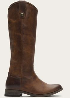 Frye Dark Brown Melissa Button Leather Boots  Swoon!