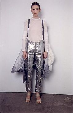 Helmut Lang 1999: Minimal, Metallic, Military, Bondage, Harness, Sheer, Feminine