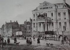 Het schielandhuis en omgeving 1840