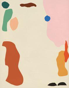 Colorful & Naive Illustrations by Anna Kövecses – Fubiz Media Deco Design, Design Art, Plakat Design, Art Graphique, Art And Illustration, Creative Review, Art Inspo, Painting & Drawing, Art Paintings